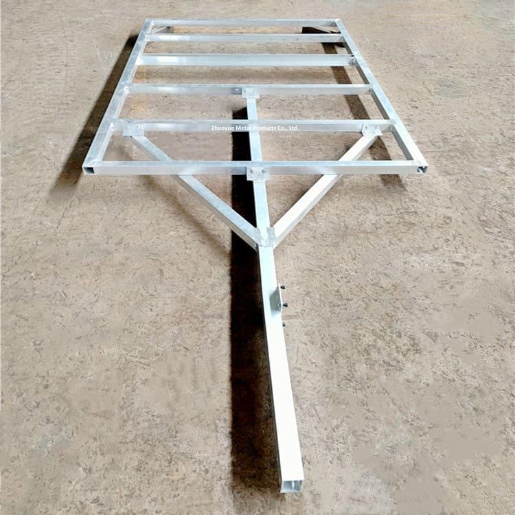 aluminum trailer frame 1
