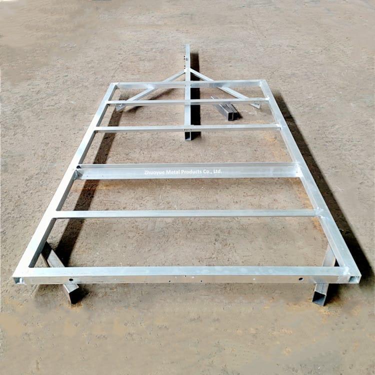 aluminum trailer frame 2