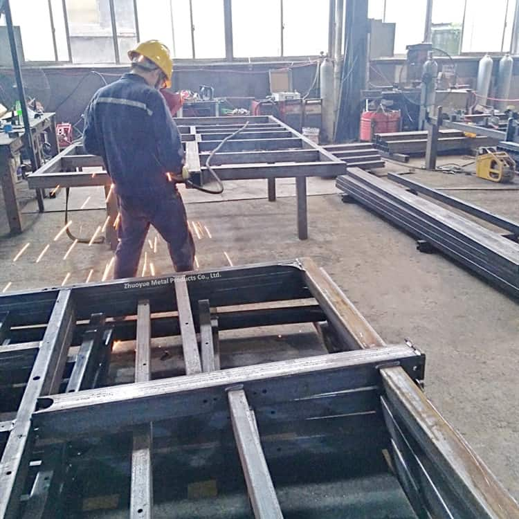 heavy duty trailer chassis 9