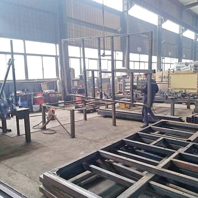 heavy-duty trailer frame welding and assembly