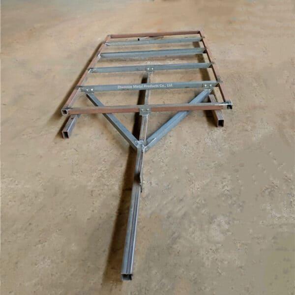 steel trailer frame 1