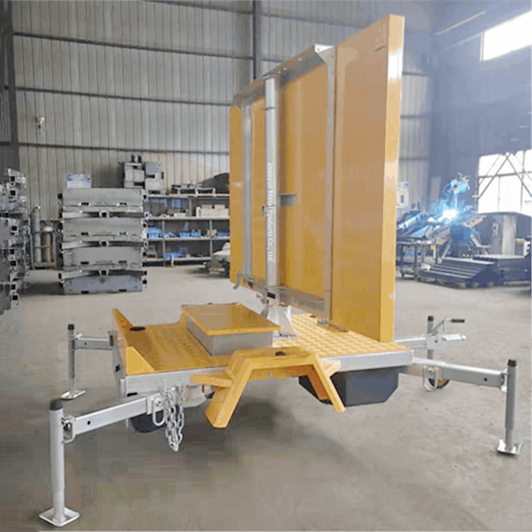 vms trailer chassis 1