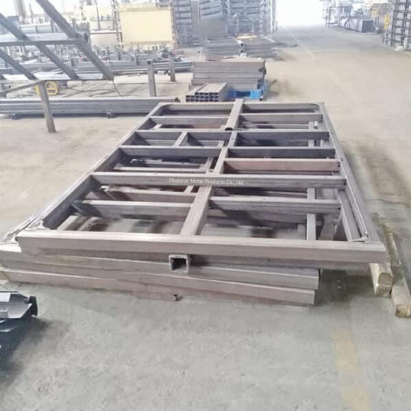 heavy duty trailer frame manufacturing