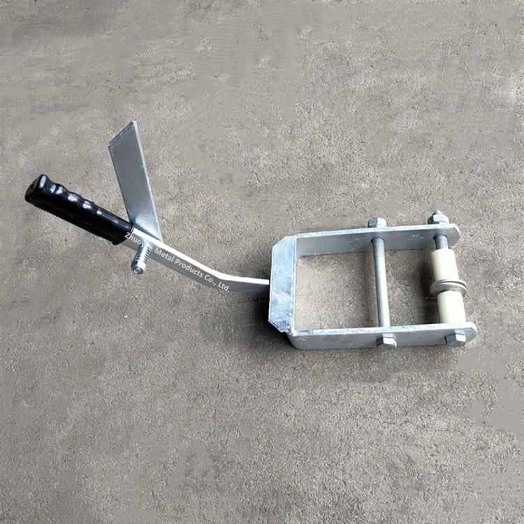 hand brake plate for boat trailer 3