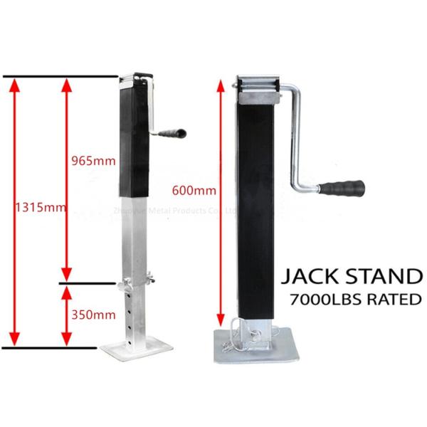 7000lbs trailer stabilizer jack corner leg